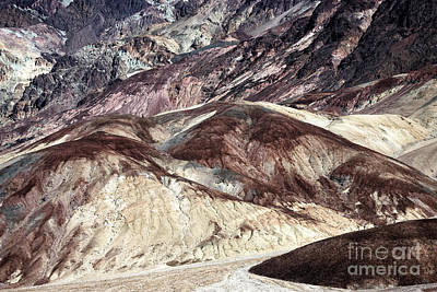 Photograph - Death Valley Colors by John Rizzuto