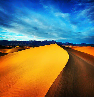 Photograph - Death Valley by Darren  White