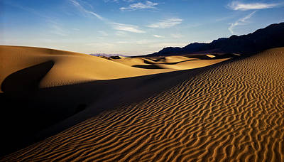 Photograph - Death Valley by Erik Poppke