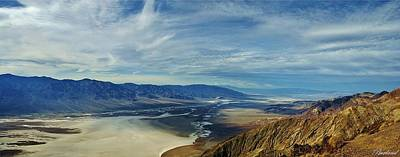 Photograph - Death Valley From Above by Burland McCormick
