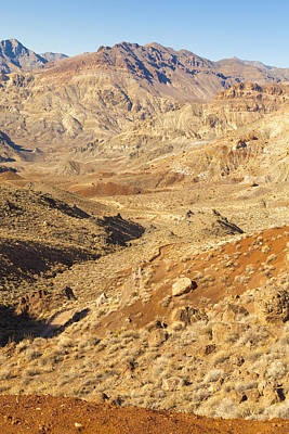 Photograph - Death Valley Landscape by Kim Swanson
