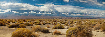 Panamint Valley Photograph - Death Valley Landscape, Panamint Range by Panoramic Images