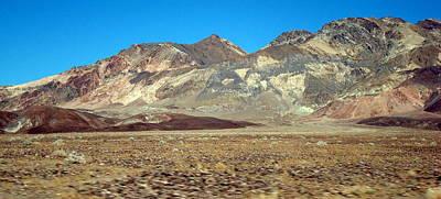 Photograph - Death Valley Landscape by Susan Woodward