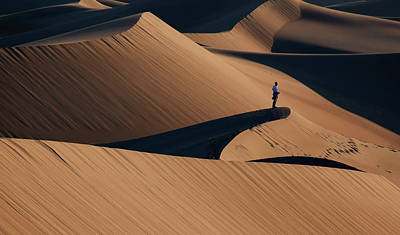 Dunes Wall Art - Photograph - Death Valley by Libby Zhang