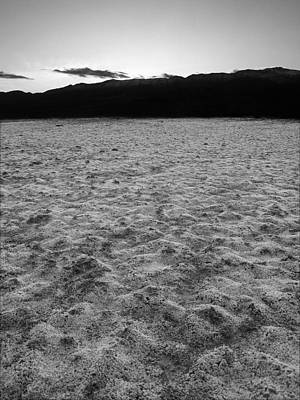Photograph - Death Valley Np Bad Water Basin 44 by Jeff Brunton