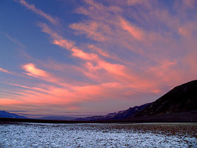 Photograph - Death Valley National Park Badwater Basin 49 by Jeff Brunton