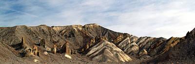 Photograph - Death Valley National Park Furnace Crek Area by Jeff Brunton
