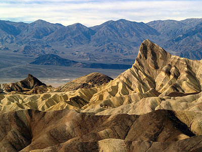 Death Valley Np Zabriskie Point 11 Art Print