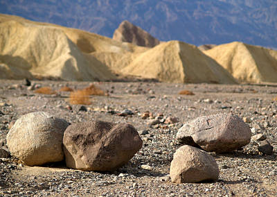 Photograph - Death Valley National Park Zabriskie Point 24 by Jeff Brunton
