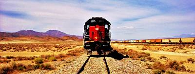 Photograph - Death Valley Rail by Benjamin Yeager