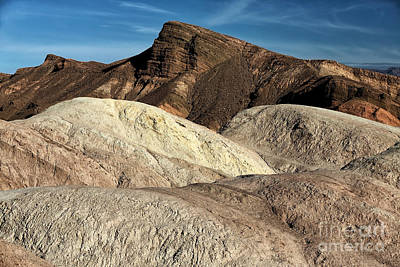 Photograph - Death Valley Shapes by John Rizzuto