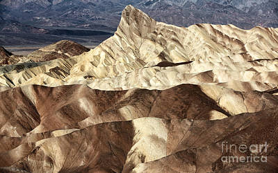 Photograph - Death Valley Slices by John Rizzuto