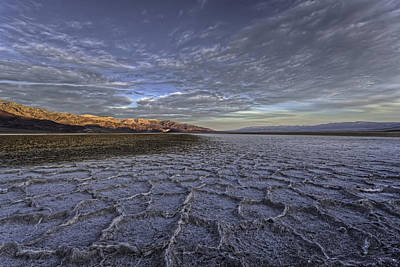 Photograph - Death Valley Sunrise - 2008 by Ralph Nordstrom