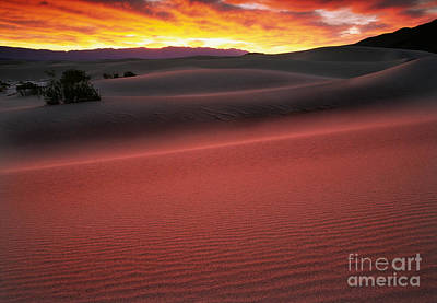 Death Valley Photograph - Death Valley Sunrise by Inge Johnsson