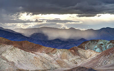Photograph - Death Valley Sunset Landscape by Pierre Leclerc Photography