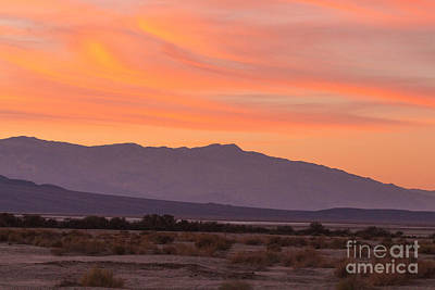 Photograph - Death Valley Sunset by Terry Cotton