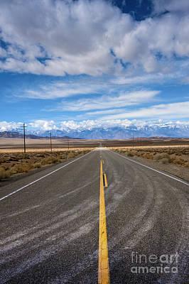 Photograph - Death Valley Vertical Road  by David Zanzinger