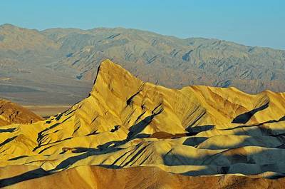 Photograph - Death Valley Zabriskie Point by Paul Van Baardwijk