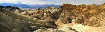 Photograph - Death Valley's Zabriskie Point Pan by Jeff Brunton