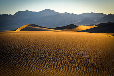 Photograph - Death Vally Dune IIi by Randy Green