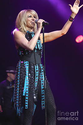 Singer Debbie Gibson Art Print by Concert Photos