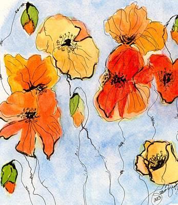 Painting - Debbie's Paintbrush by Joan Zepf
