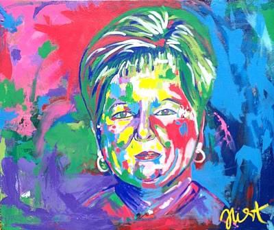 Painting - Deborah Lybrand by Janice Westfall
