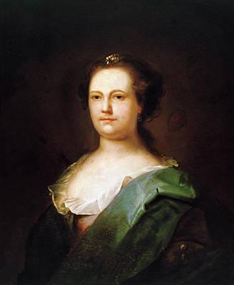Ben Franklin Painting - Deborah Read Franklin (1708-1774) by Granger