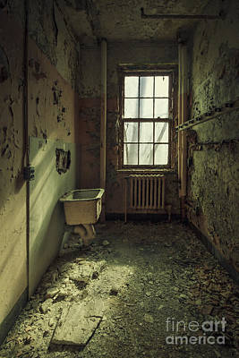 Asylum Photograph - Decade Of Decay by Evelina Kremsdorf