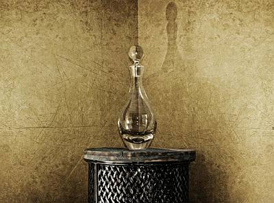 Decanter Art Print by Chris Fleming