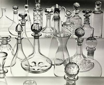 White House Photograph - Decanters by Bill Helms