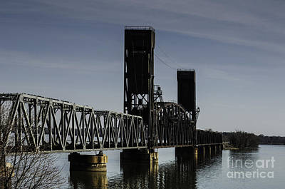 Photograph - Decatur Lift Bridge by Curtis Dale