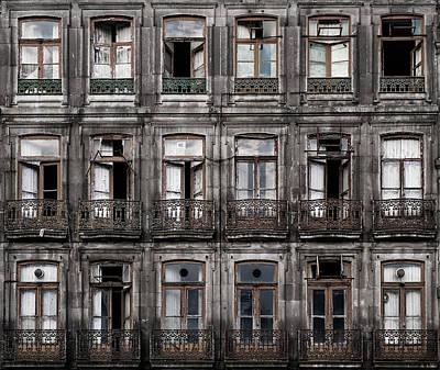 Balcony Photograph - Decay by Fran Osuna