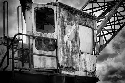 Grey Scale Photograph - Decayed Glory - 5 by Rudy Umans