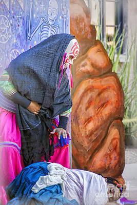 Digital Art - Deceased Mother Visits Grieving Daughter by Georgianne Giese
