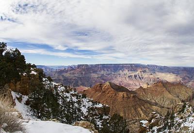 December Canyon Snow Original