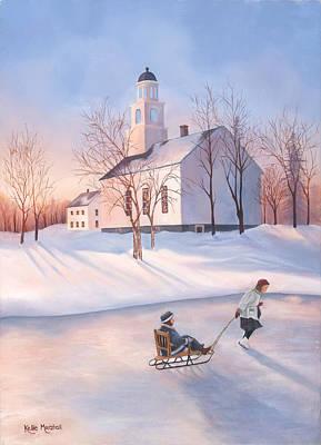 December Days Print by Kellie Marshall