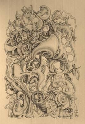 December Print by Mikhail  Riabtsovski