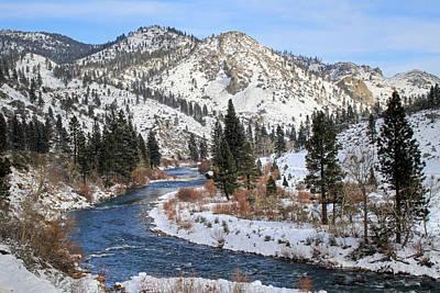 Photograph - December Nevada Landscape by Donna Kennedy