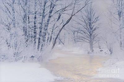 Photograph - December Riverscape by Alan L Graham