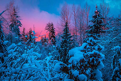 Mountain Royalty-Free and Rights-Managed Images - December by Ryan McGinnis