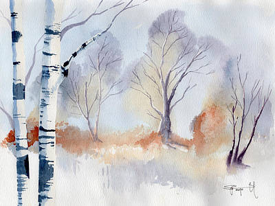 Painting - December by Sean Parnell