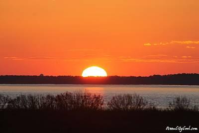 Photograph - December's First Sunset by Robert Banach