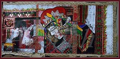 Nostalgie Mixed Media - Deception by Aicha Hamdi