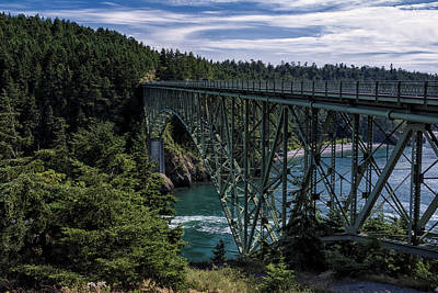 Whidbey Wall Art - Photograph - Deception Pass by Joan Carroll