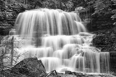 Decew Falls In Black And White Original