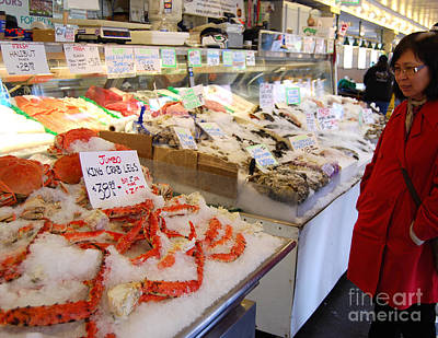 Photograph - Deciding On King Crab by Mark Spearman