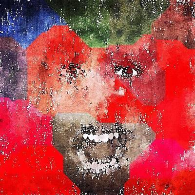 Expressionism Wall Art - Photograph - #decim8ed #decim8ios by Alexander Shmakoff