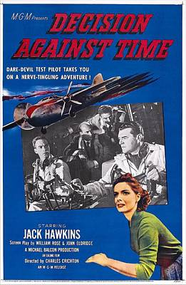 1957 Movies Photograph - Decision Against Time, Aka The Man In by Everett
