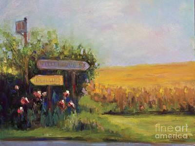 Pastel - Decision by Joyce A Guariglia